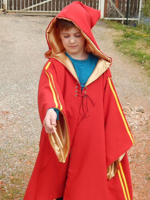 Cape Costume Potter De La Delfy Et Quidditch Harry Ses sCxQthrdB
