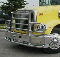 Freightliner Coronado Bumper Heavy Duty Semi Truck Bumper From Ali Arc 2 Post Deer Protection Semi Truck Bumper Truck Bumpers Trucks Freightliner