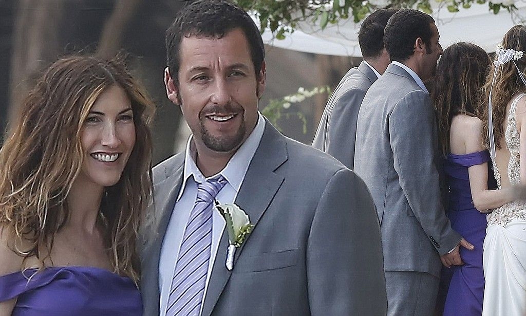 Adam Sandler can't keep his hands off wifeof11years