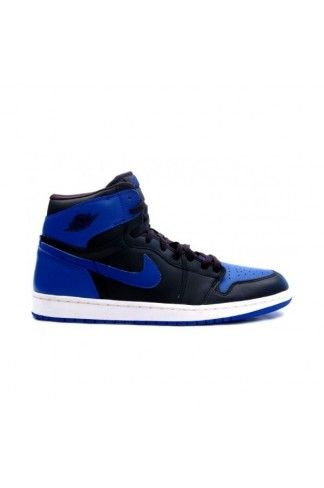 buy online eb91b 99c86 136066 041 Authentic Air Jordan 1 Retro Jordans 1s Mens Basketball Shoes  Black Blue A01003
