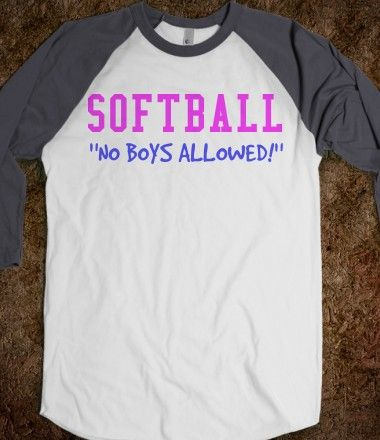Softball No Boys Allowed Softball Shirt Softball baseball tee baseball tee tee shirt