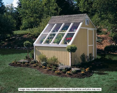 Garden Sheds Menards handy home phoenix 10' x 8' solar shed - kit only at menards