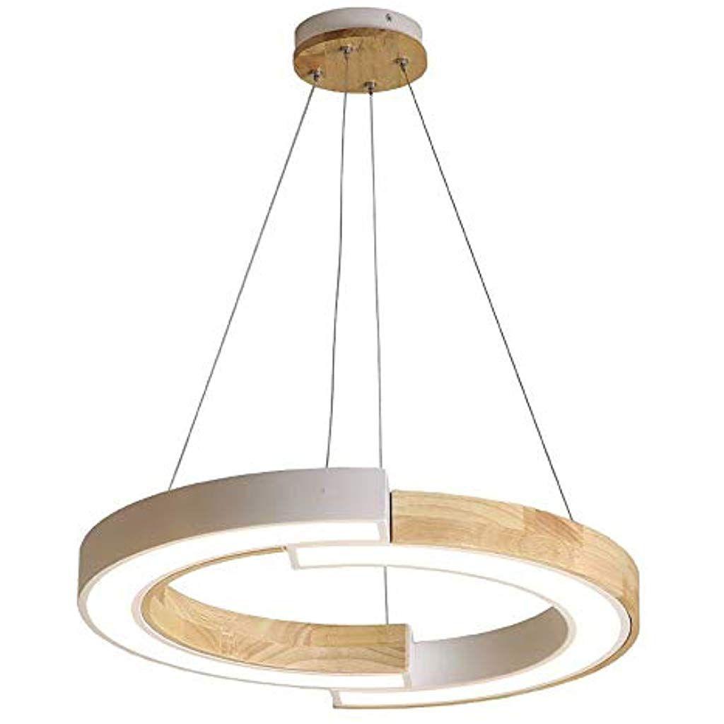 Pendelleuchte Glas LED weiss Wohnzimmer Warmweiß