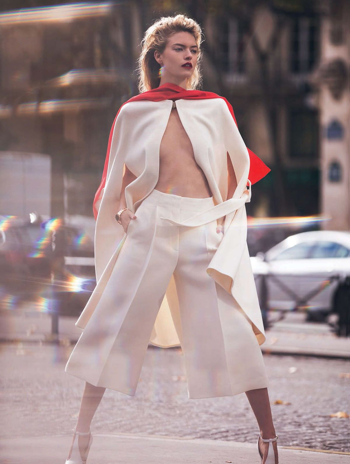visual optimism; fashion editorials, shows, campaigns & more!: martha hunt by david bellemere for marie claire italia december 2014