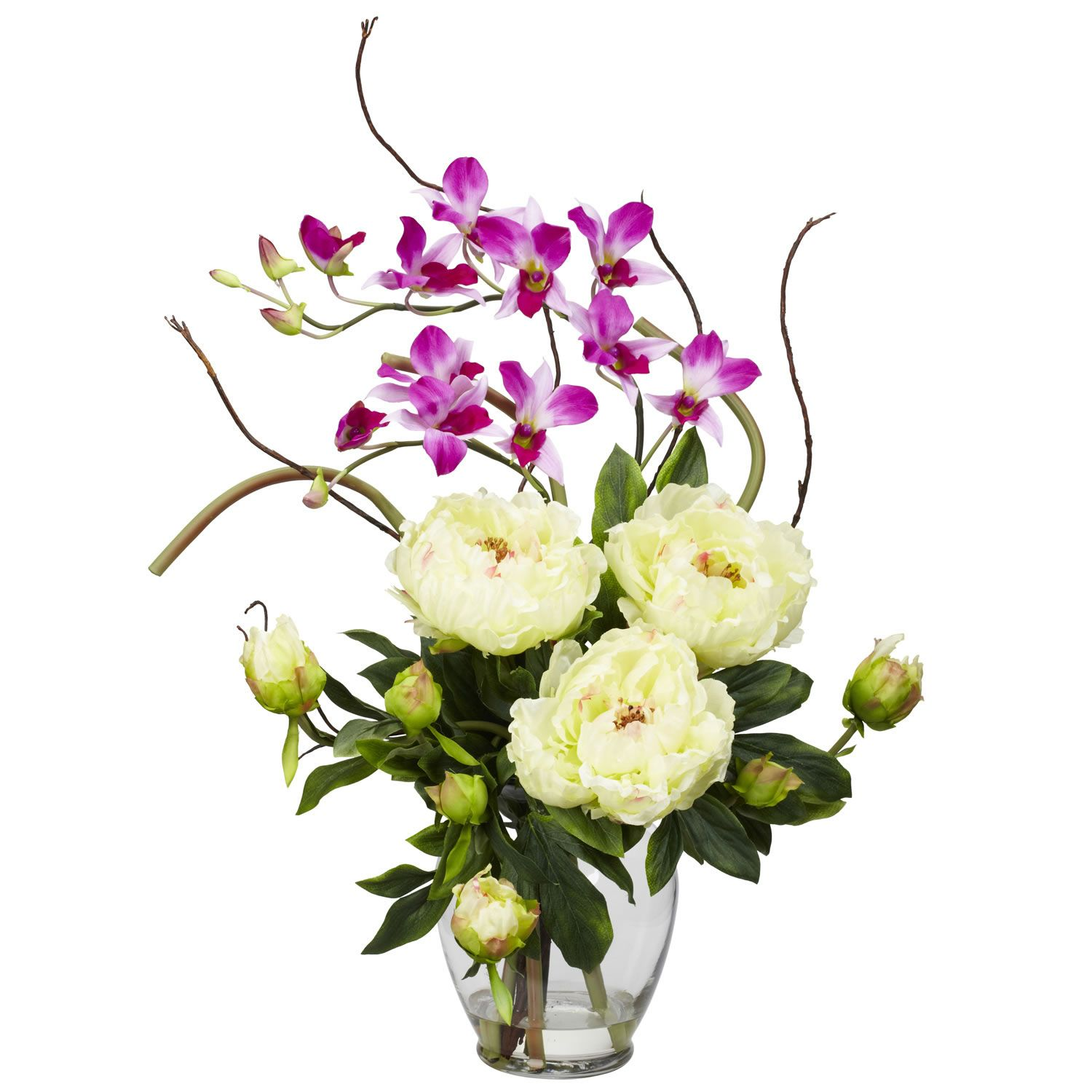 Silk flower arrangements roll over product image to zoom for Artificial flowers decoration home