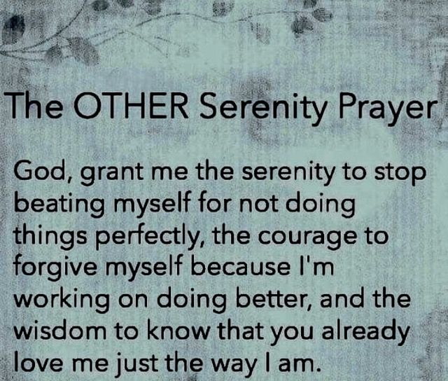 The Other Serenity Prayer 2bme F A I T H Pinterest Serenity