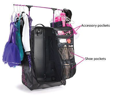 New Grit Dance Tower Dance Bag Duffels With Rack N Roll
