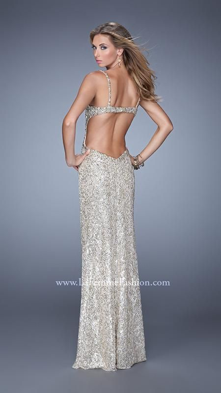 La Femme 21036 | La Femme Fashion 2014 - La Femme Prom Dresses - La Femme Cocktail Dresses