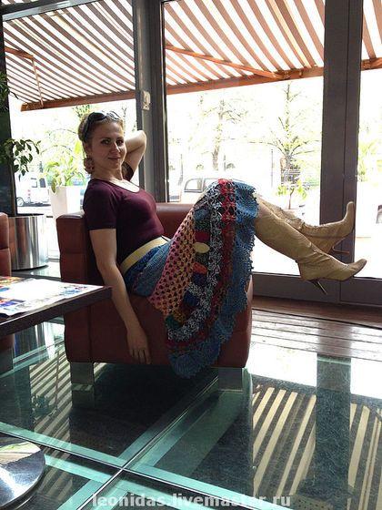Юбка Шадрица. Очень позитивная, красивая и удобная юбка!