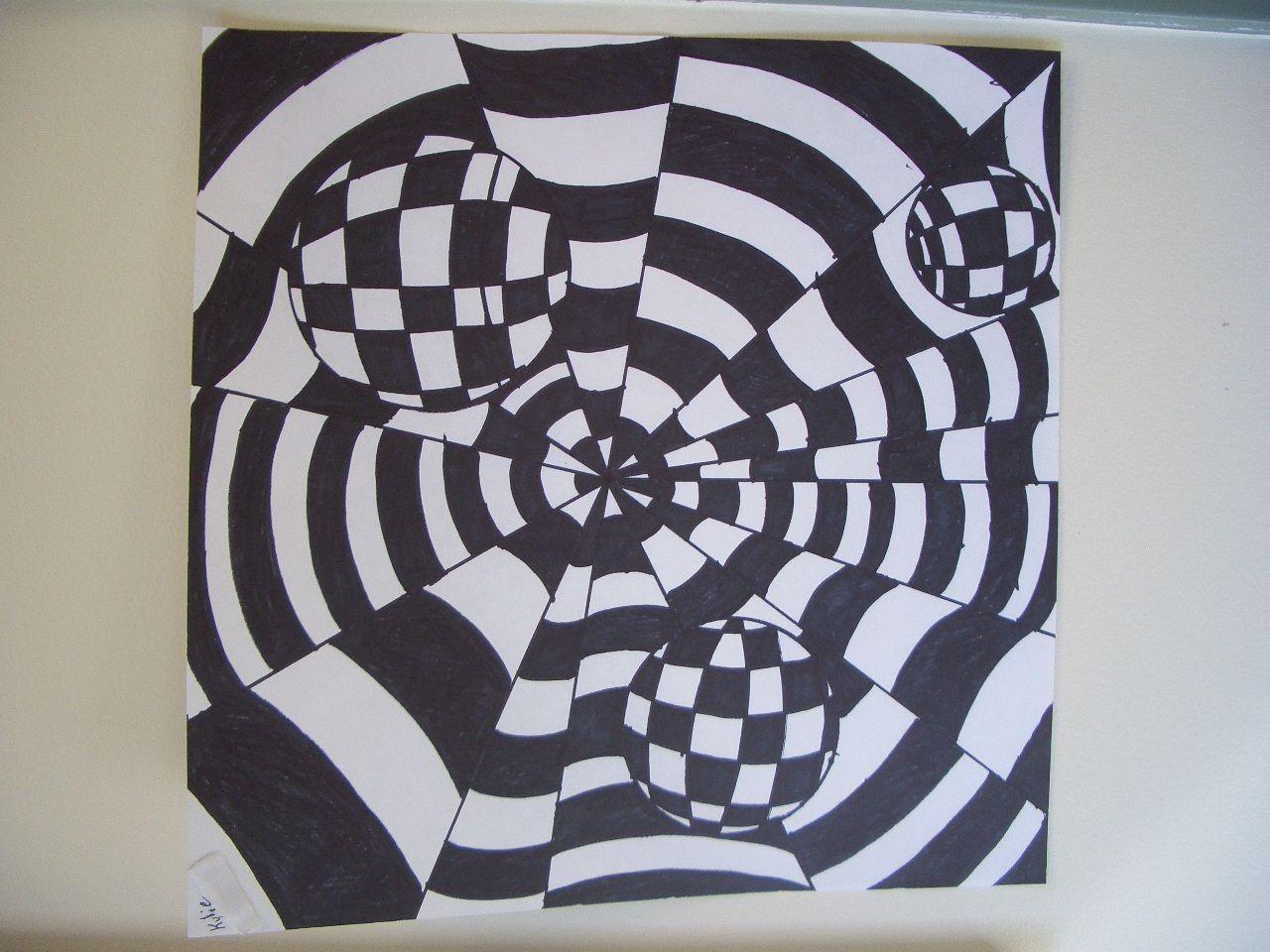 Op Art By Grade 8