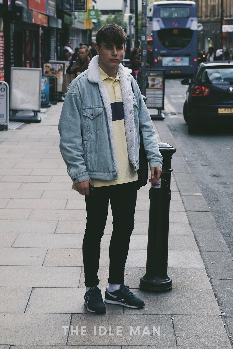 Men's Street Style Keeping It Vintage Black super