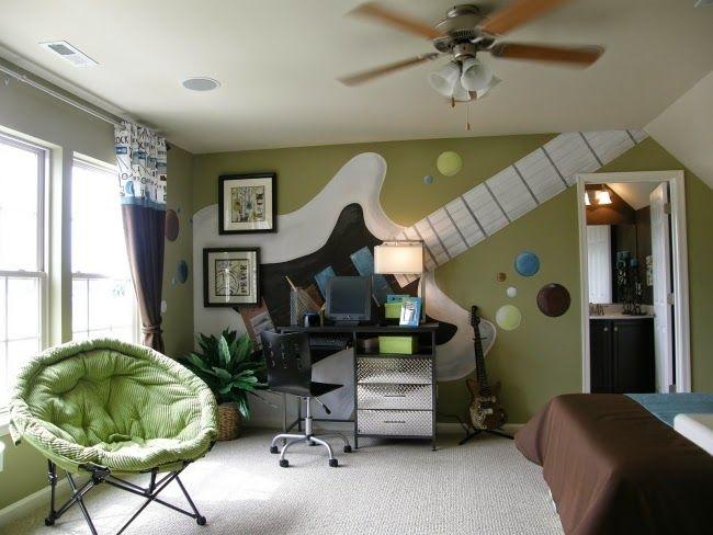 dormitorios juveniles tema m sica muebles y mas deco pinterest kinderzimmer teenager. Black Bedroom Furniture Sets. Home Design Ideas