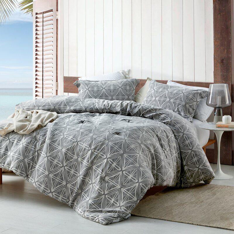 Rowsey Reversible Comforter Set In 2020 Comforter Sets Oversized King Comforter Grey Comforter