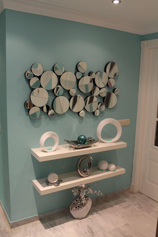 C mo utilizar espejos para crear entornos m gicos for Espejos decorativos para recibidor