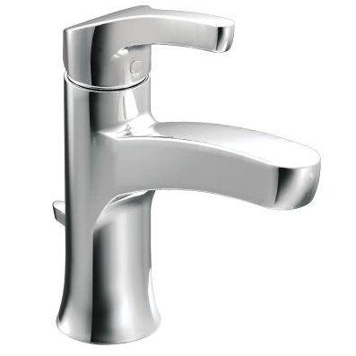 Moen Danika Single Hole Bathroom Faucet With Drain Assembly