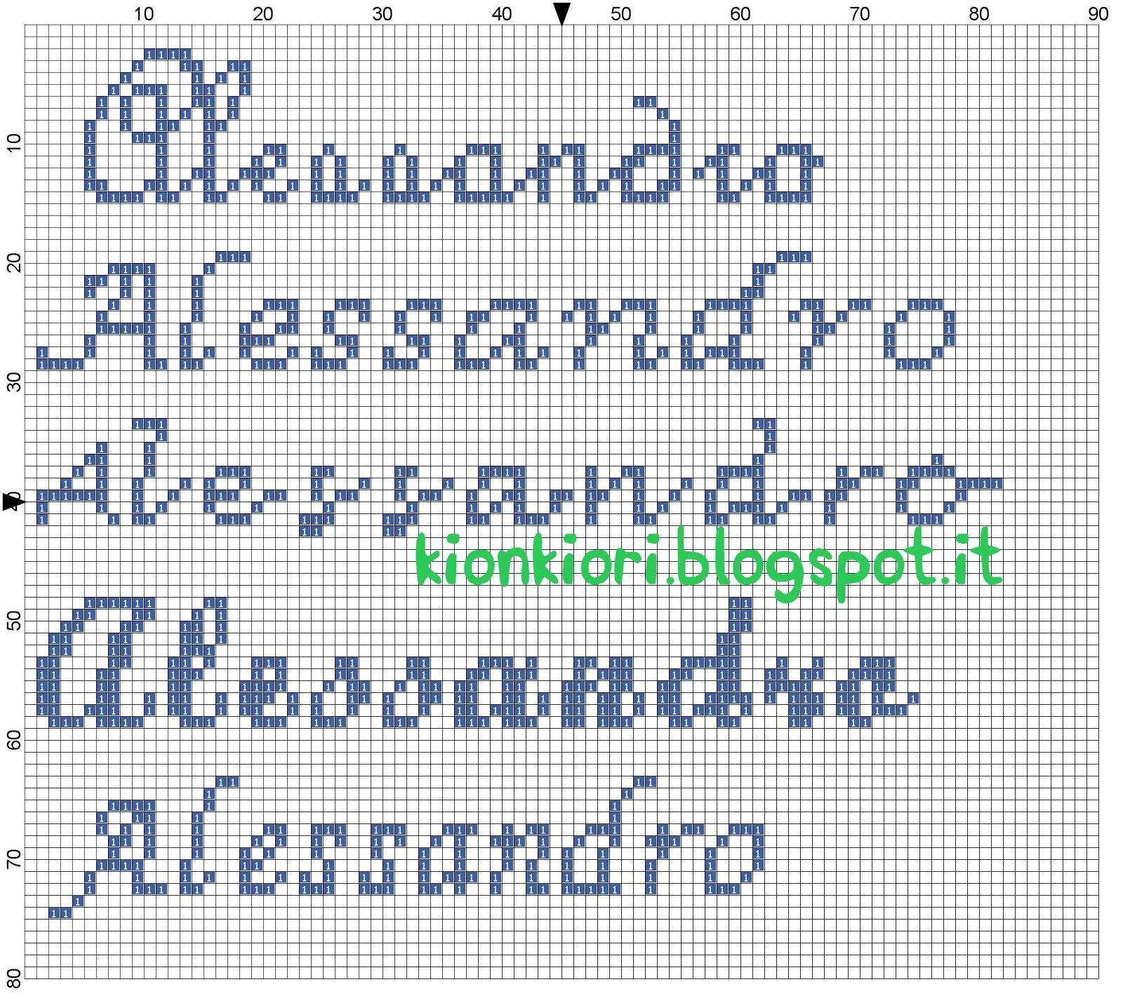 Kionkiori punto croce qualche nome in pi alessandro for Nomi in corsivo gallery
