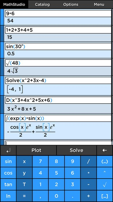 MathStudio Express - Symbolic graphing calculator for algebra ...
