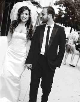 Brides: Shimrit and Aaron in Manhattan, NY