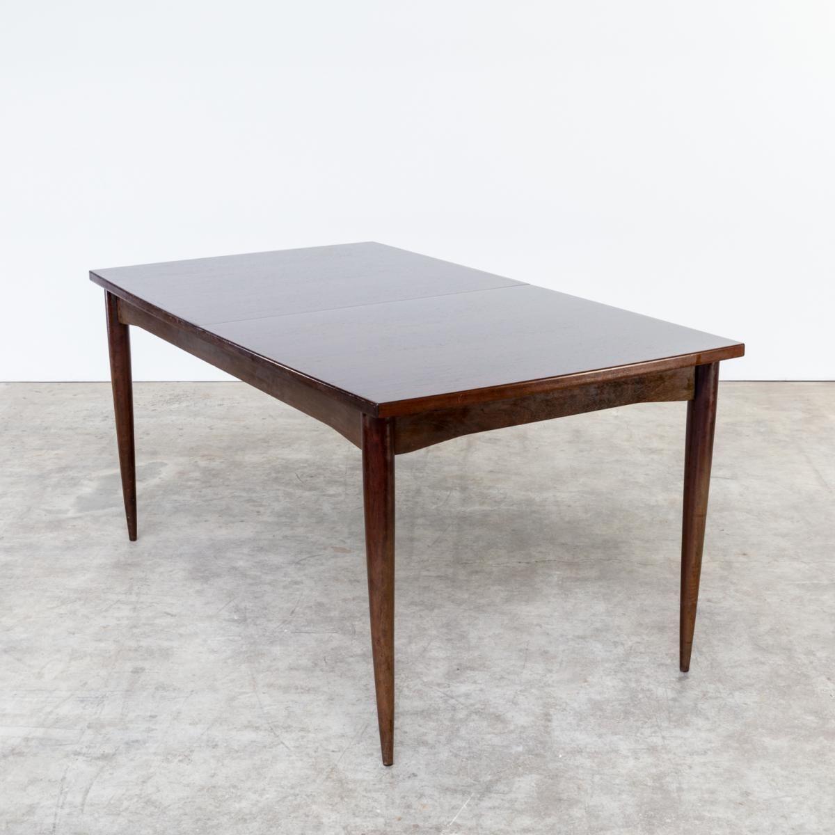 Ausziehbarer Brauner Palisander Esstisch, 1960er | Paint furniture ...