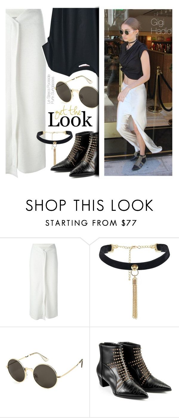 """""""Get the Look : Gigi Hadid"""" by smartbuyglasses-uk ❤ liked on Polyvore featuring STELLA McCARTNEY and A.F. Vandevorst"""