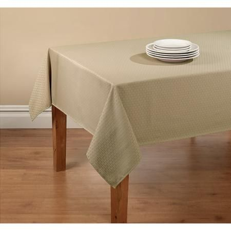 Mainstays Hyde Embossed Fabric Tablecloth With Vinyl Table Protector Brown 60 W X 84 L Multiple Sizes And Colors Walmart Com Black And White Tablecloth Table Cloth Tablecloth Fabric
