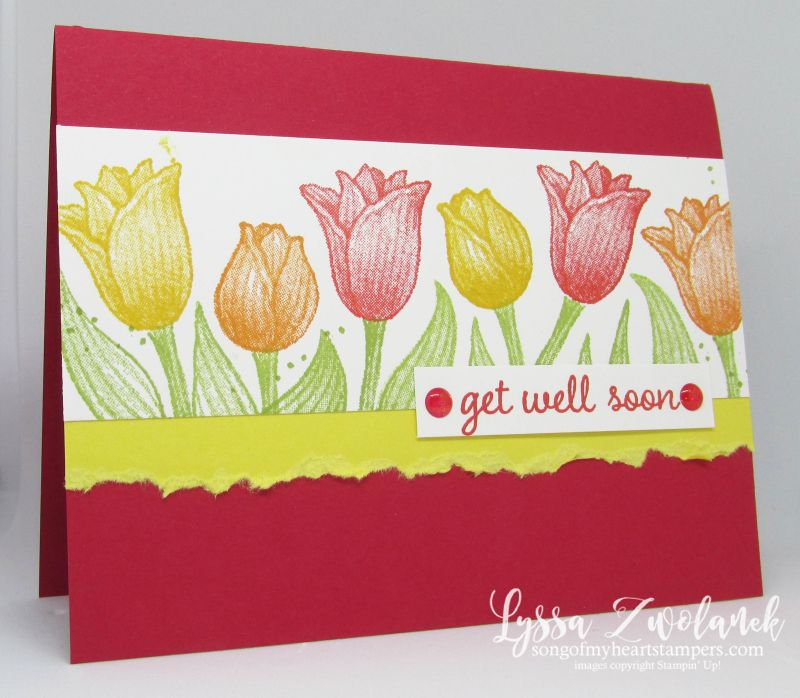 Timeless Tulips and Tulip Builder Punch cards