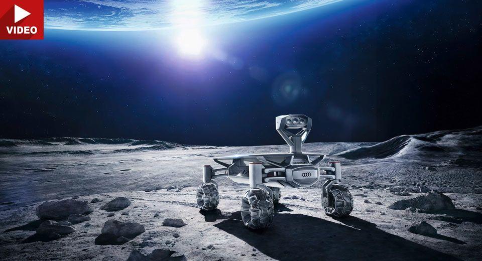 Audi Lunar Quattro Rover