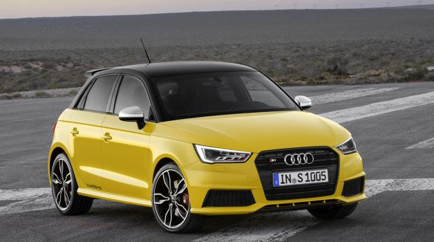 Audi S1 Officially Shows Itself As 228 Hp Hot Hatch W Video