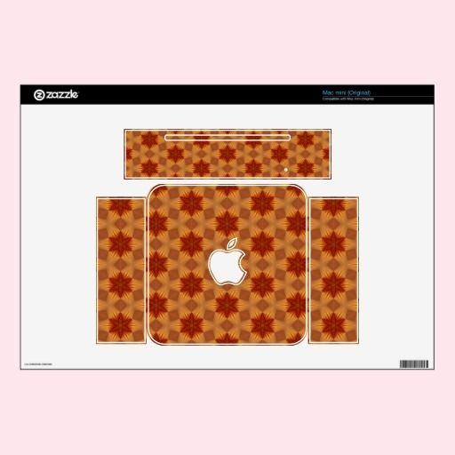 Red Stars Laptop Zazzle Skin Decals For Mac Mini