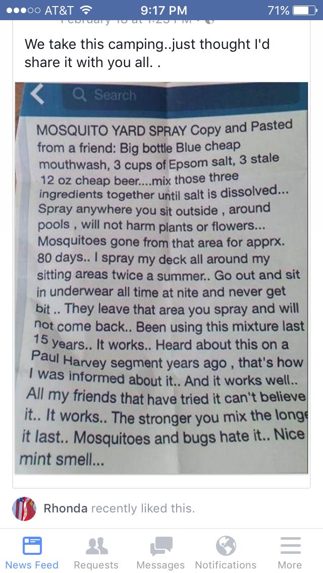 Sulfato De Magnesio Elixir Bucal E Cerveja Morta Mosquito Yard