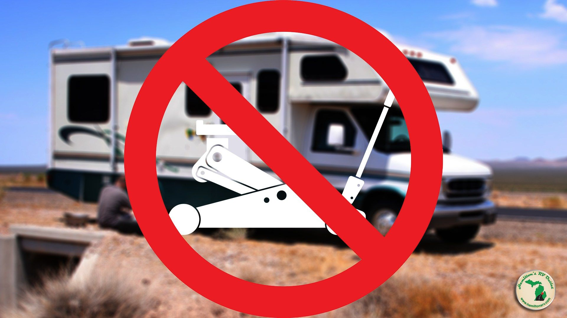 Changing an rv flat tire without a jack hamiltons rv blog