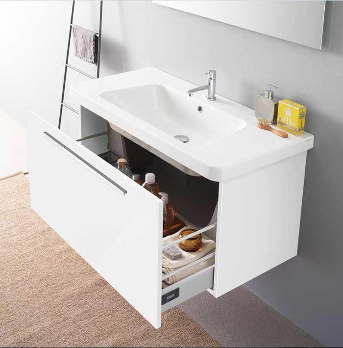 Badezimmer, Keramik waschtisch mit unterschrank mit maße breite - badezimmer waschbecken mit unterschrank