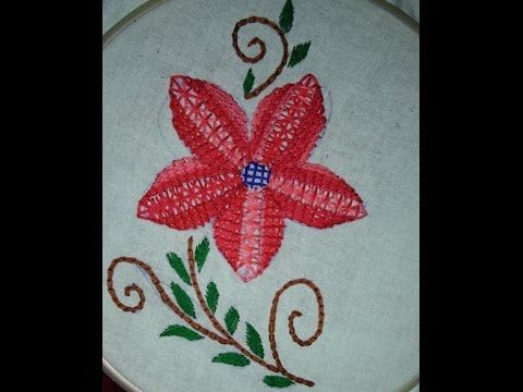 Hand Embroidery Design Hand Embroidery Stitches Tutorial Thorn