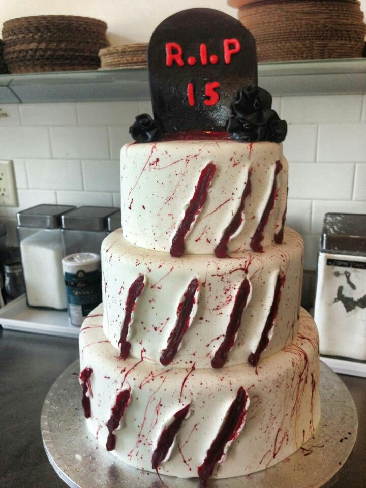 Great cake idea for \ - sweet 16 halloween party ideas