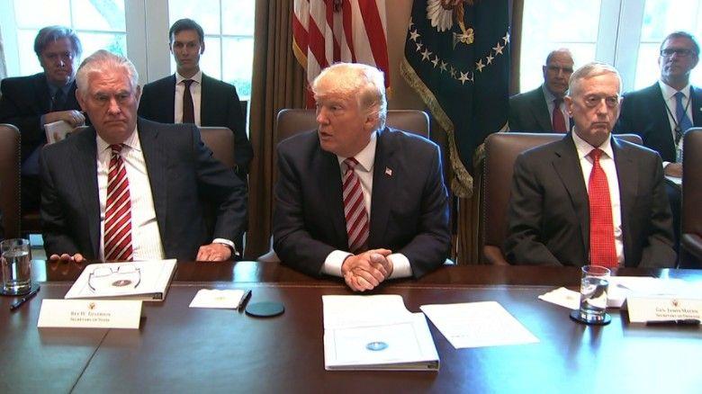 Cabinet Members Give Trump Unusual Tribute   CNNPolitics