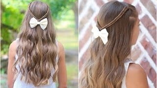 Cute Girls Hairstyles Youtube Cute Girls Hairstyles  Youtube  Hair Dues  Pinterest  Girl