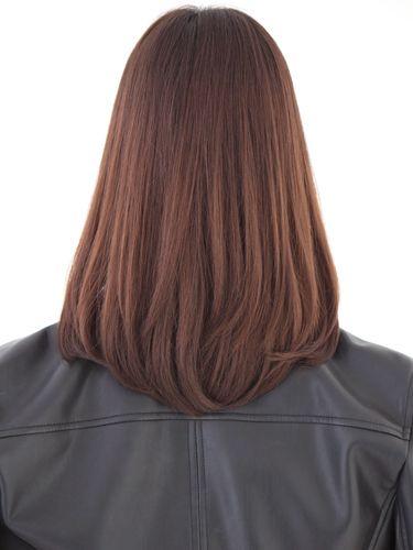清楚系ワンカール内巻きセミロング ミディアム Haircuts Straight Hair Hair Styles Medium Hair Styles