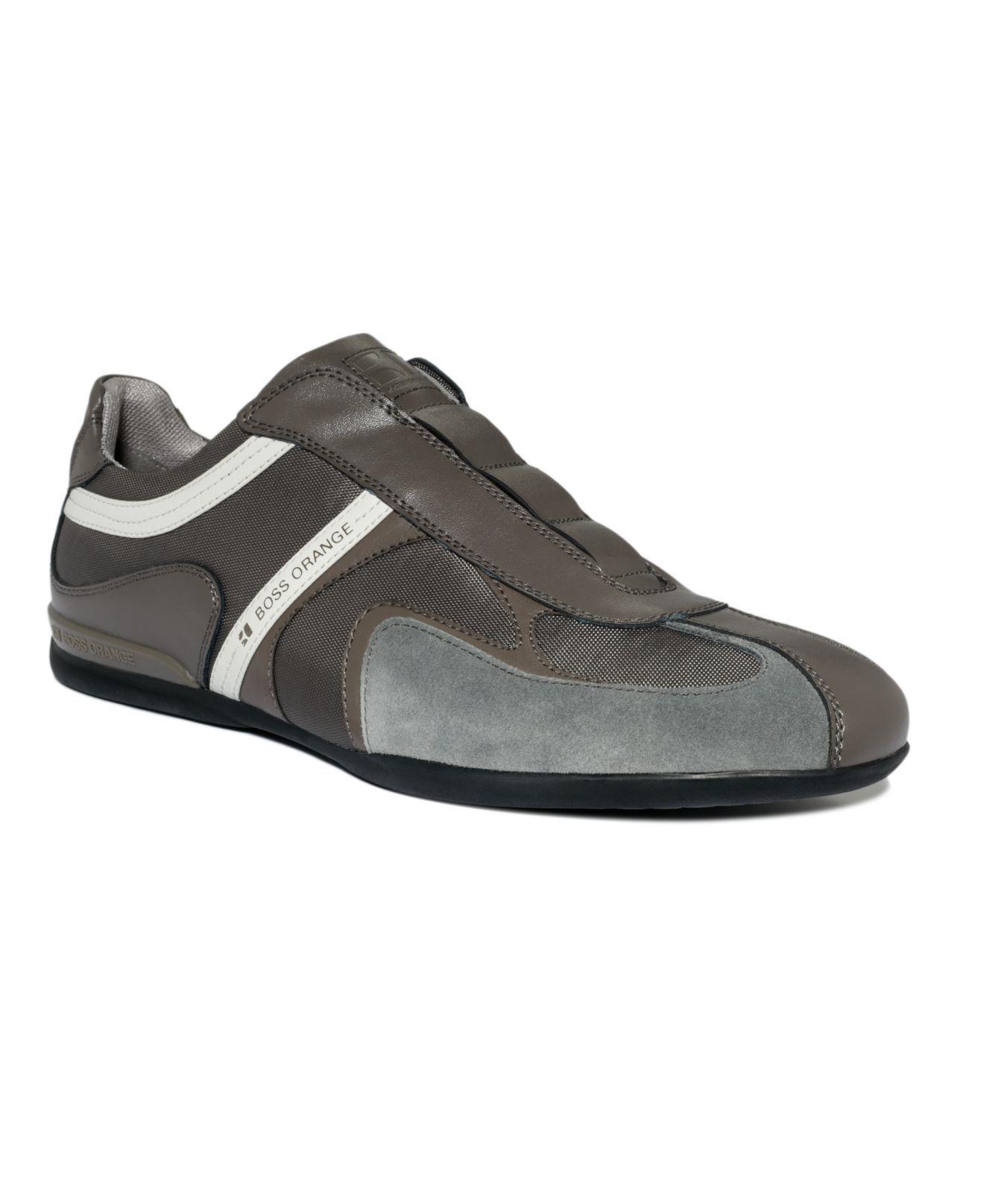 Hugo Boss Orange Shoes Seamon I Slip On Sneakers Mens All Men S Shoes Macy S Boss Orange Shoes Hugo Boss Orange Slip On Sneakers