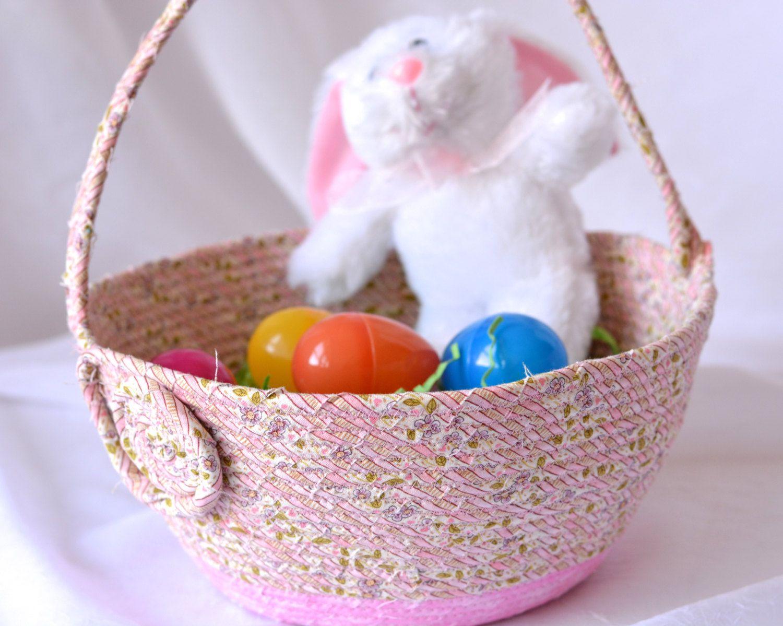 I handmade this cute easter basket lovely shabby chic pink i handmade this cute easter basket lovely shabby chic pink easter negle Image collections