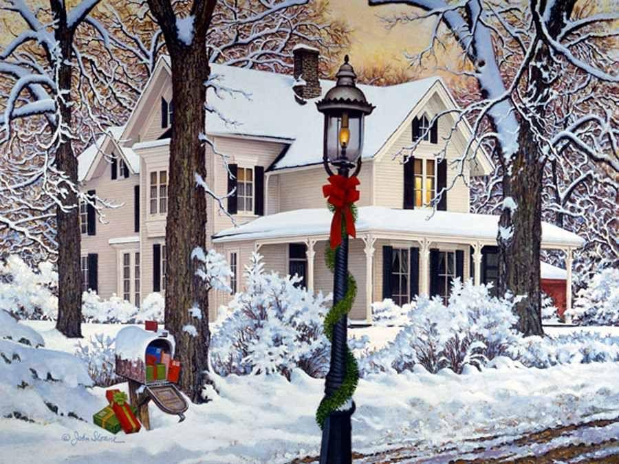 John Sloane - Christmas Homestead | Christmas Arts ...