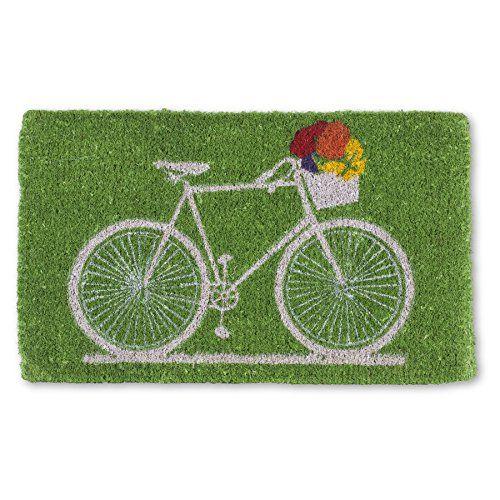 Pleasant Abbott Collection Bicycle With Flowers Door Mat Abbott Door Handles Collection Olytizonderlifede