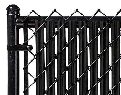 6ft Black Ridged Slats For Chain Link Fence Fence Slats Black