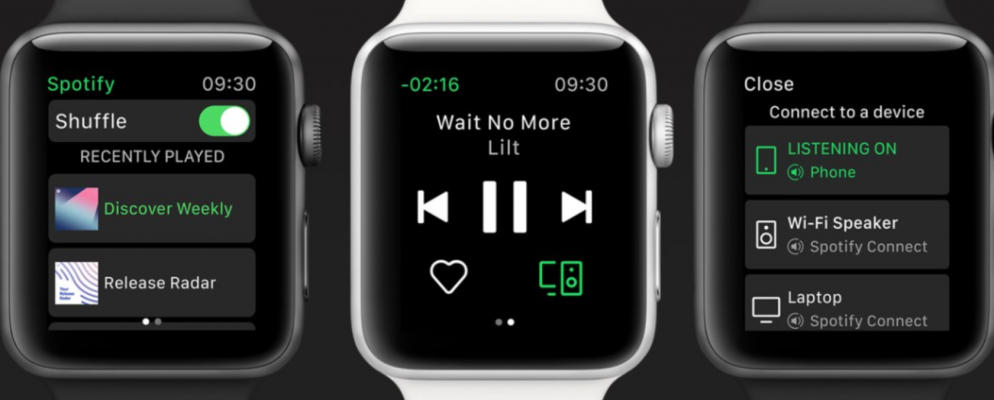 Spotify Launches an Apple Watch App Apple watch apps
