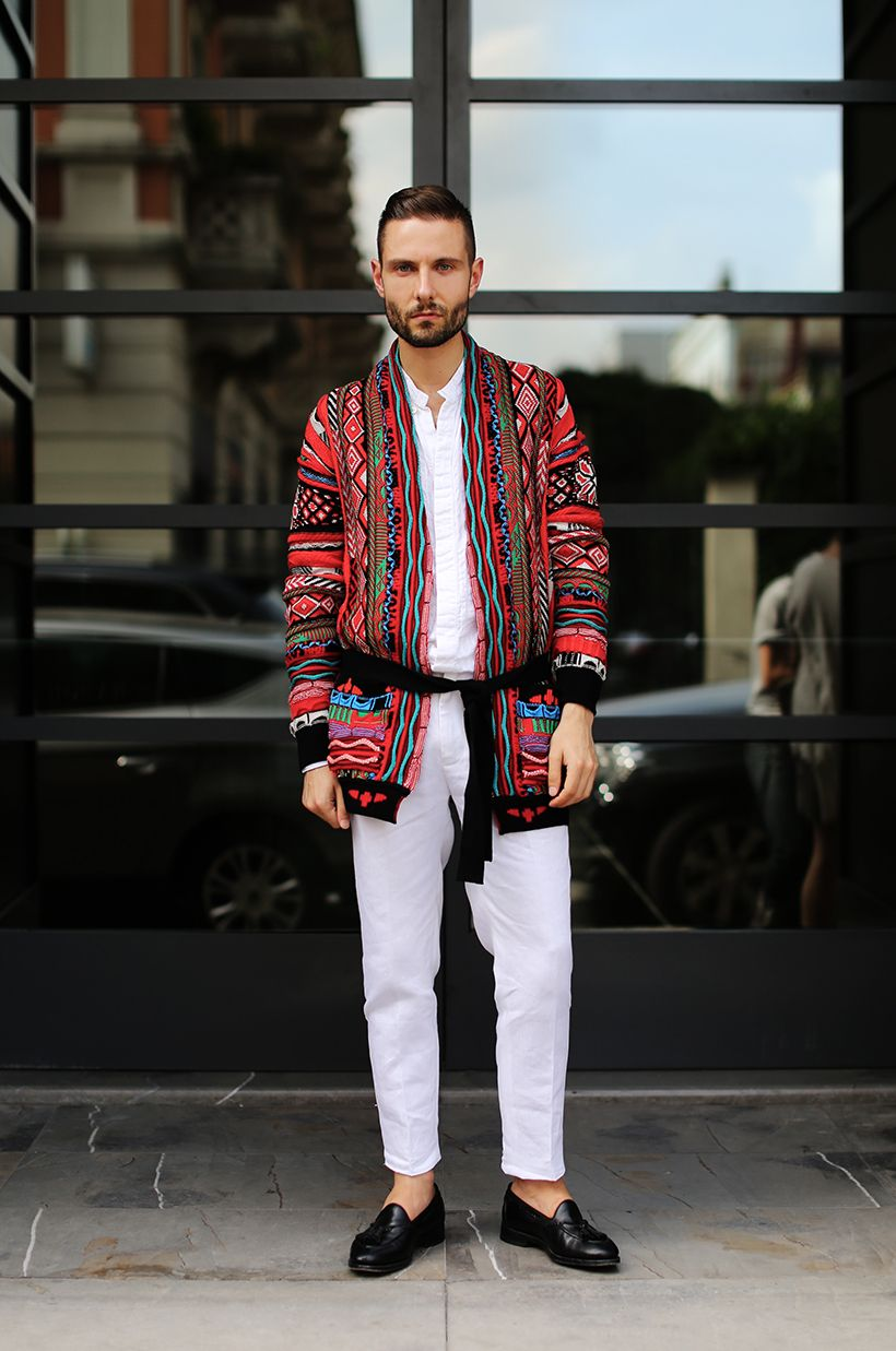 Fashion Bomber of the Day: Karlmond from London new photo