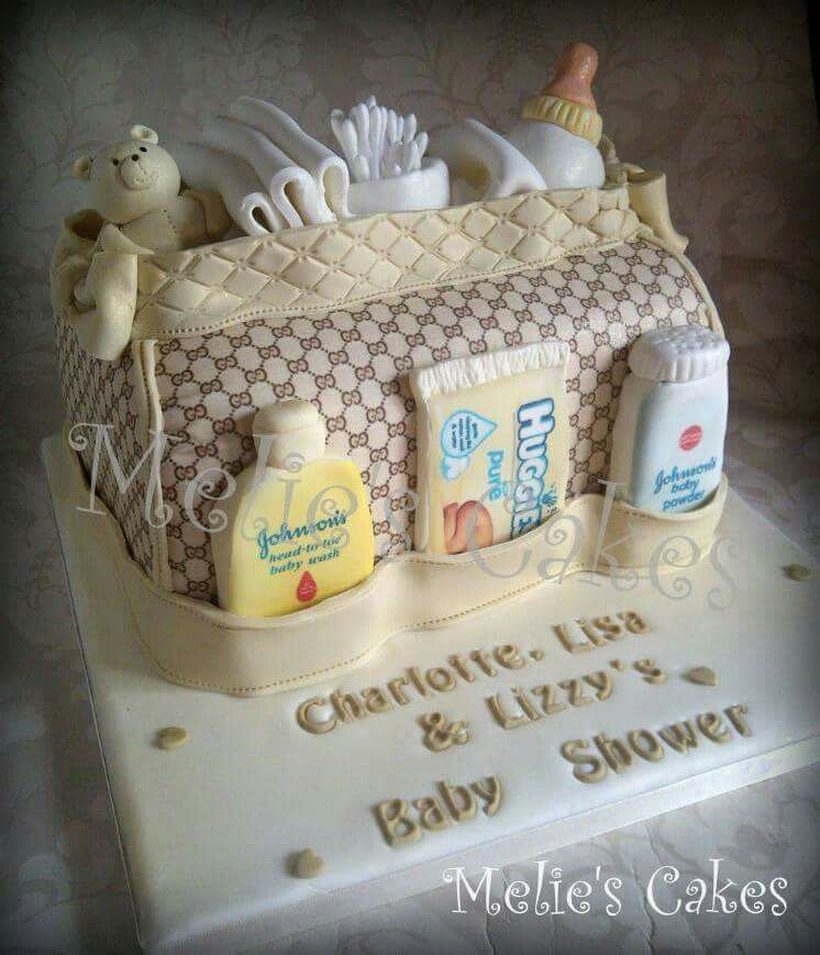 Baby Shower Cake For 3 Friends Expecting At Same Time