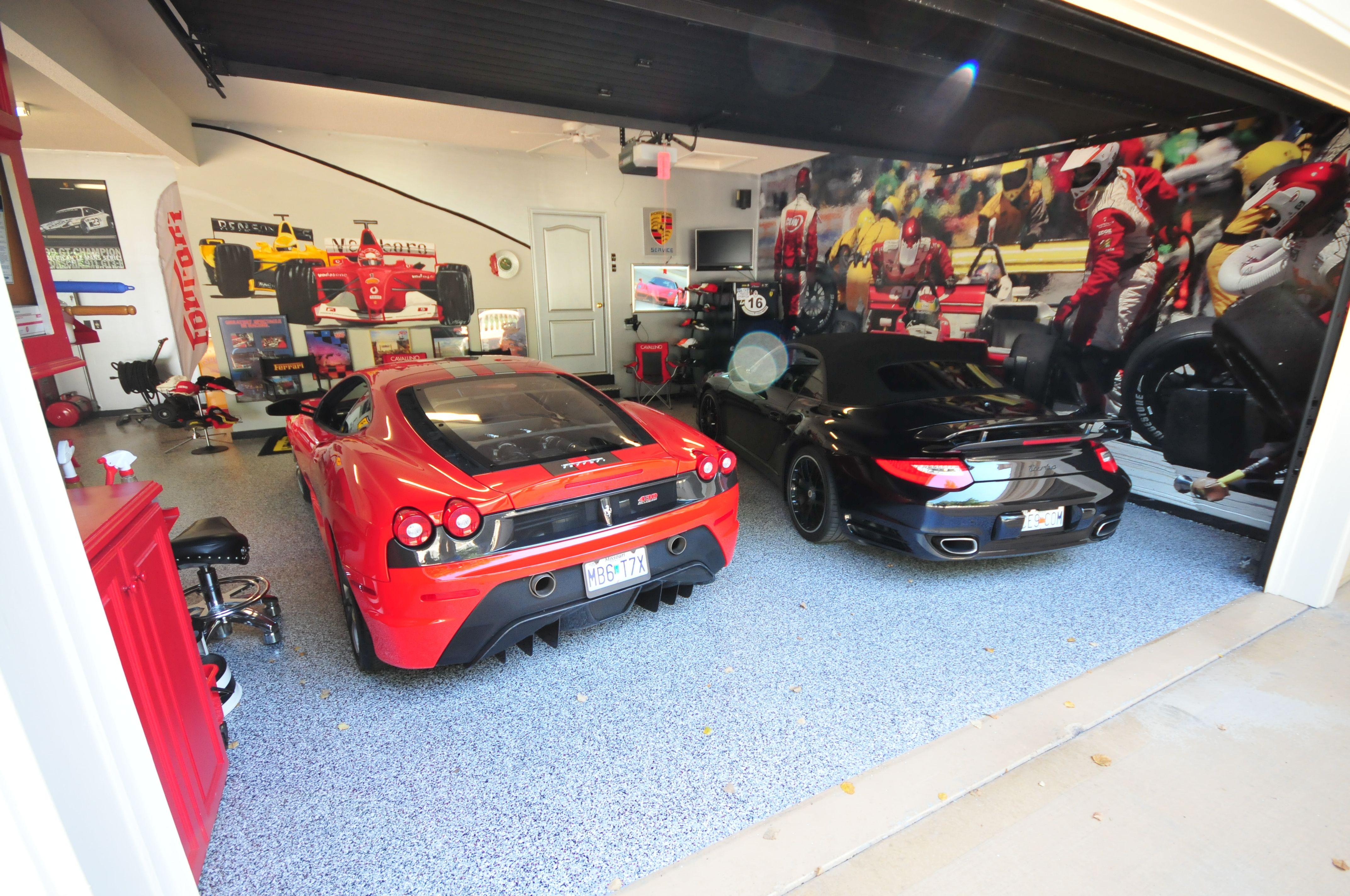 Amazing Garage And Cars Floor