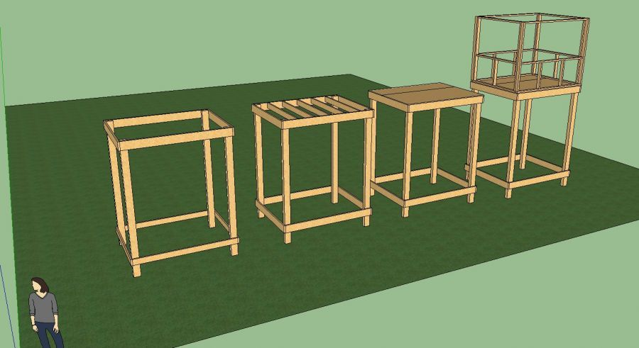 Building plans for deer stands unique house plans how for How to build a deer blind