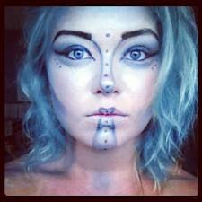 mermaid moonstruck cirque du soleil makeup  circus
