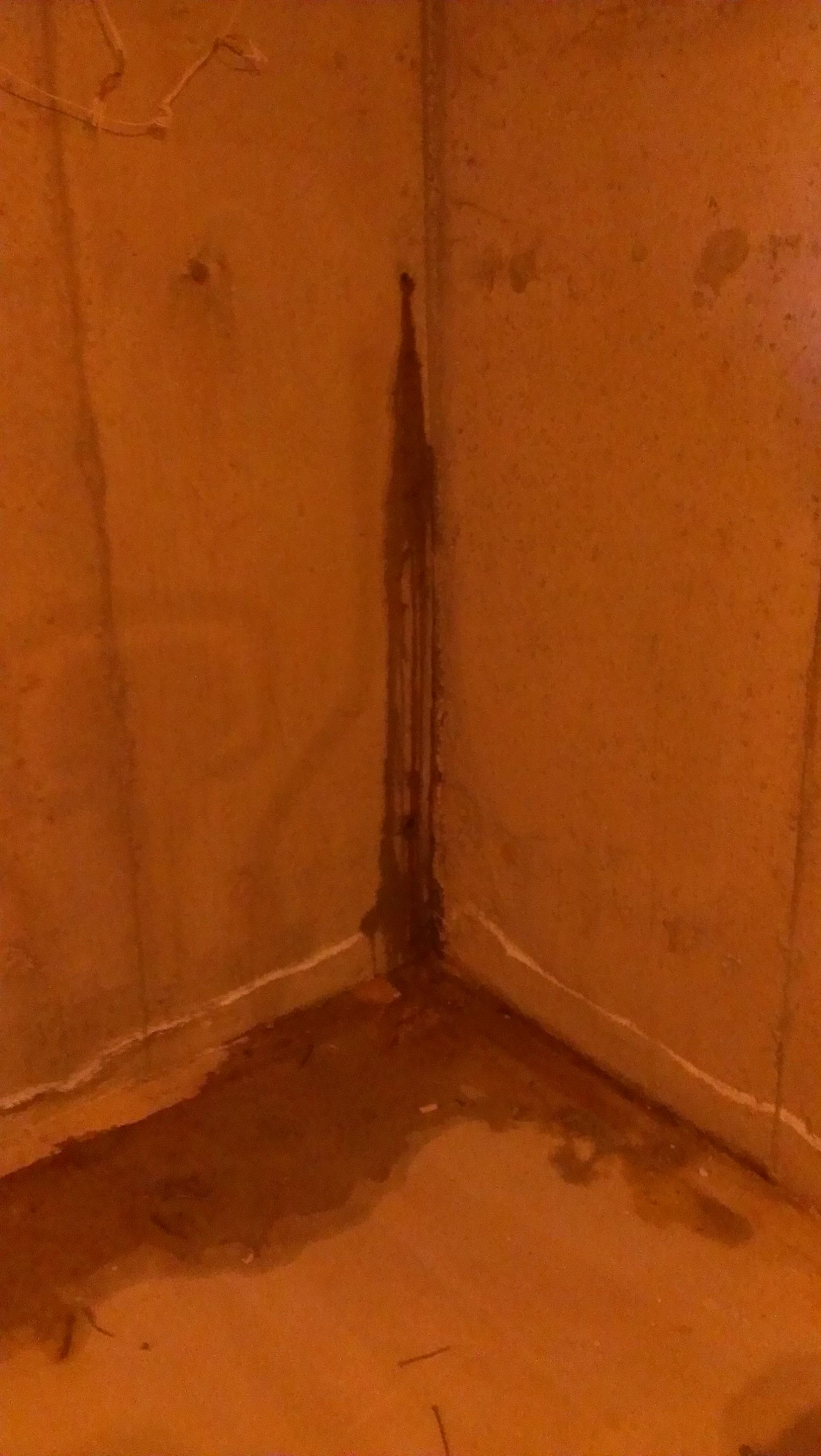 How To Waterproof Leaky Tie Rods In Basement Walls Using The - Damp basement walls