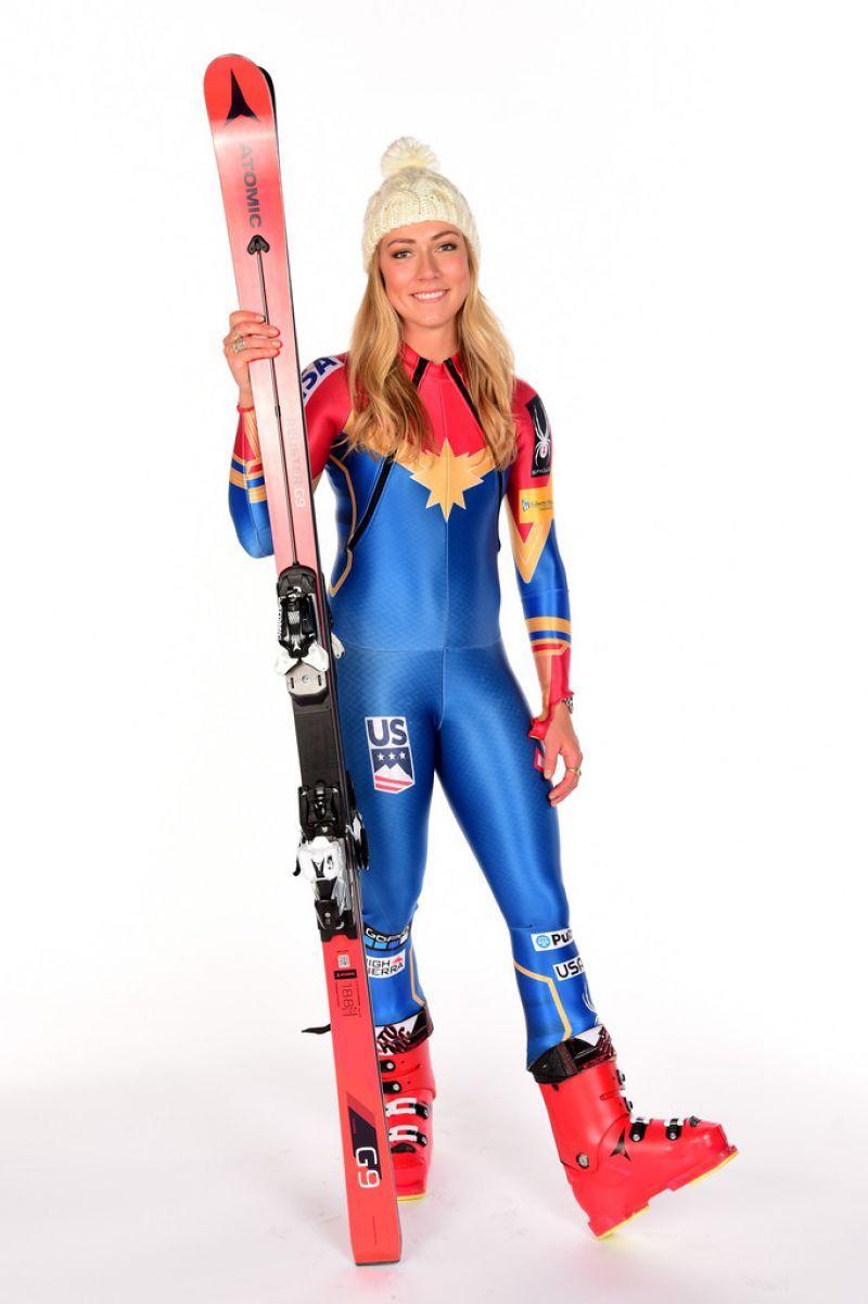 2018 winter olympics team usa | MIKAELA SHIFFRIN - Team USA PyeongChang 2018 Winter Olympics Portraits - HawtCelebs - HawtCelebs